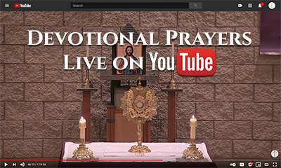 Devotions Live on YouTube